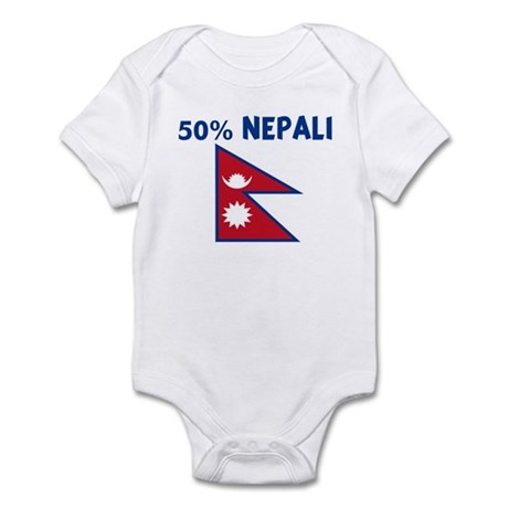 50 PERCENT NEPALI Infant Bodysuit