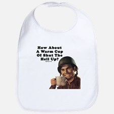 How About A Warm Cup Of Shut  Bib