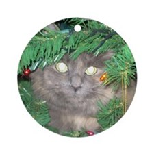 Christmas Contest 2 Ornament (Round)