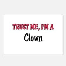 Trust Me I'm a Clown Postcards (Package of 8)