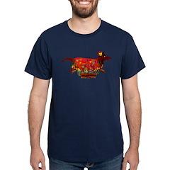 Weiner Dog Valentine T-Shirt