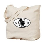 Leo Sign B&W Tote Bag