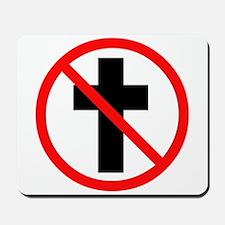 No Christianity Mousepad