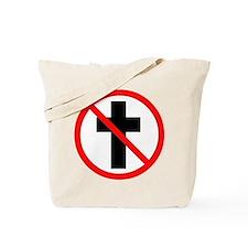 No Christianity Tote Bag