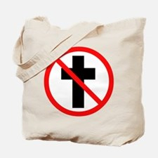 No Christianity Tote Bag