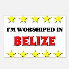 I'm Worshiped In Belize Postcards (Package of 8)