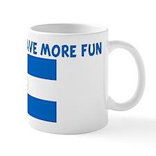 NICARAGUAN HAVE MORE FUN Mug