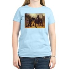 Queen Victoria on a horse. T-Shirt