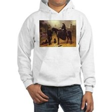 Queen Victoria on a horse. Hoodie