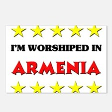 I'm Worshiped In Armenia Postcards (Package of 8)