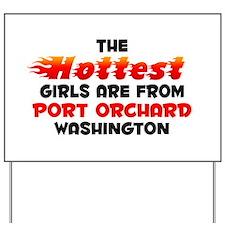 Hot Girls: Port Orchard, WA Yard Sign