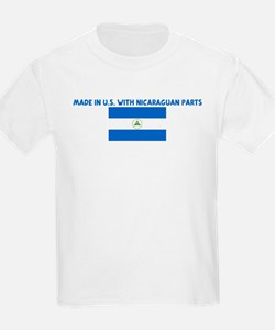 MADE IN US WITH NICARAGUAN PA T-Shirt