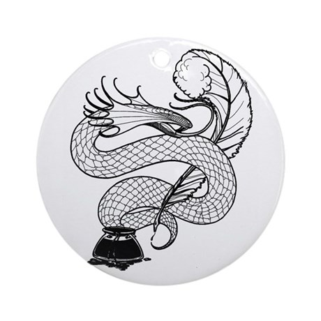 Poisoned Pen Ornament (Round)