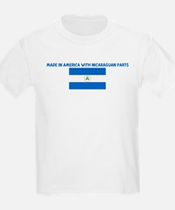 MADE IN AMERICA WITH NICARAGU T-Shirt