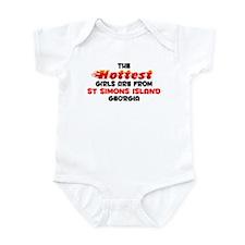 Hot Girls: St Simons Is, GA Infant Bodysuit
