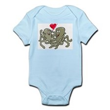 Octopus In Love Infant Creeper