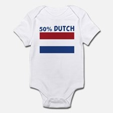 50 PERCENT DUTCH Infant Bodysuit
