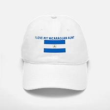 I LOVE MY NICARAGUAN AUNT Baseball Baseball Cap