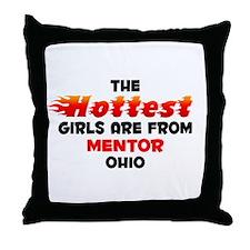 Hot Girls: Mentor, OH Throw Pillow