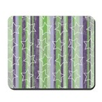 Vintage Purple and Green Mousepad