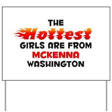 Hot Girls: McKenna, WA Yard Sign