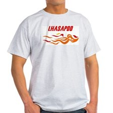Lhasapoo (fire dog) T-Shirt