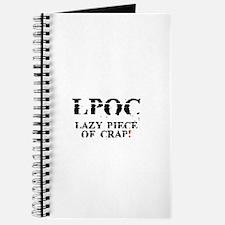 LPOC - LAZY PIECE OF CRAP! Journal