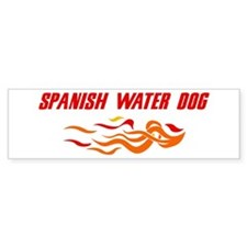 Spanish Water Dog (fire dog) Bumper Bumper Sticker