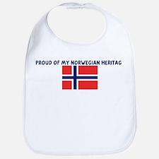 PROUD OF MY NORWEGIAN HERITAG Bib