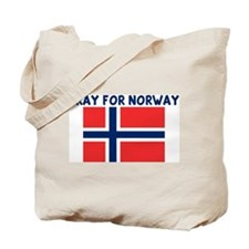 PRAY FOR NORWAY Tote Bag