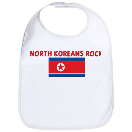 NORTH KOREANS ROCK Bib