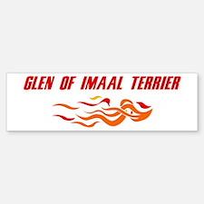 Glen of Imaal Terrier (fire d Bumper Bumper Bumper Sticker
