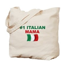 #1 Italian Mama Tote Bag