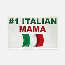 #1 Italian Mama Rectangle Magnet