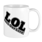 Laughing Jesus Mug
