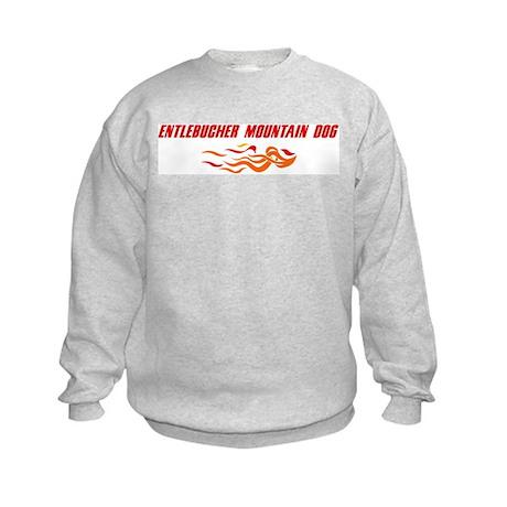 Entlebucher Mountain Dog (fir Kids Sweatshirt