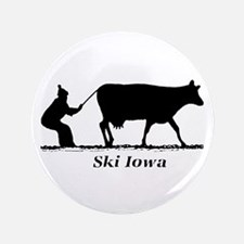 "Ski Iowa 3.5"" Button"