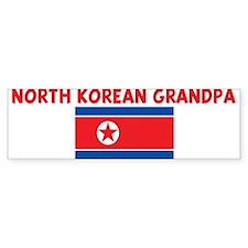 NORTH KOREAN GRANDPA Bumper Bumper Sticker
