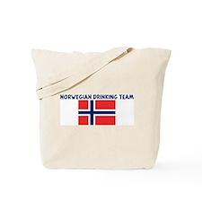 NORWEGIAN DRINKING TEAM Tote Bag