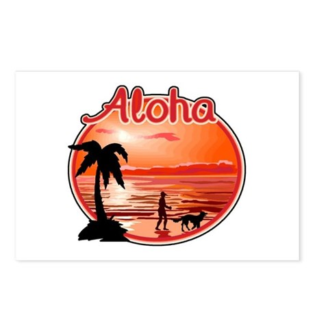Aloha Postcards (Package of 8)