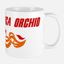 Peruvian Inca Orchid (fire do Mug