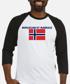 NORWEGIAN BY MARRIAGE Baseball Jersey