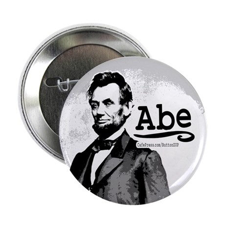 """Abe Lincoln 2.25"""" Button (10 pack)"""