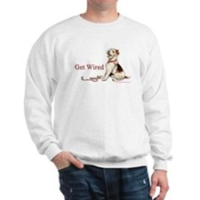 Wire Fox Terrier Dog Walk Sweatshirt