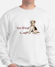 Wire Fox Terrier Dog Walk Sweatshirt