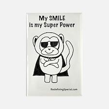 Cool Smiling monkeys Rectangle Magnet