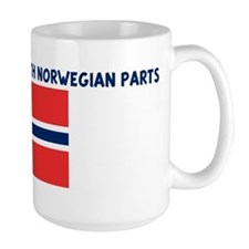 MADE IN AMERICA WITH NORWEGIA Mug