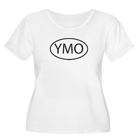 YMO Womens Plus-Size Scoop Neck T