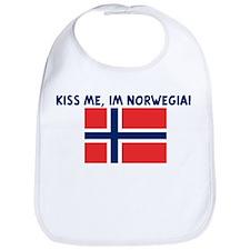 KISS ME IM NORWEGIAN Bib