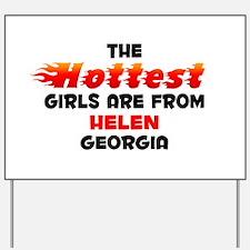 Hot Girls: Helen, GA Yard Sign